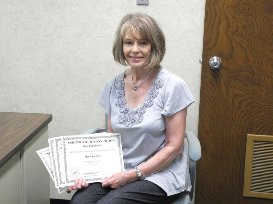 Glenda Feris is president of the recently renamed Plainview Area Retired School Personnel Association, formerly the Plainview Retired Teachers Association. Photo: Gail M. Williams | Plainview Herald