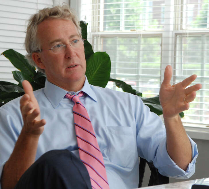 ** FILE ** Chesapeake Energy CEO and Seattle SuperSonics co-owner Aubrey McClendon talks in this Aug. 2, 2007 file photo, in Oklahoma City, Okla. The NBA has fined Seattle SuperSonics co-owner Aubrey McClendon $250,000 for comments he made two weeks ago that his group didn't buy the team to keep it in Seattle.  (AP Photo/The Journal Record, Jennifer Pitts)