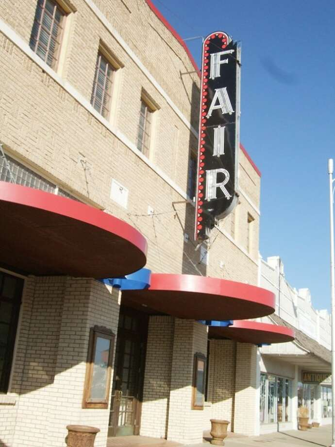 Fair Theatre Manager Shane Harrell hopes to bring in performing artists from area towns to the theater this year.