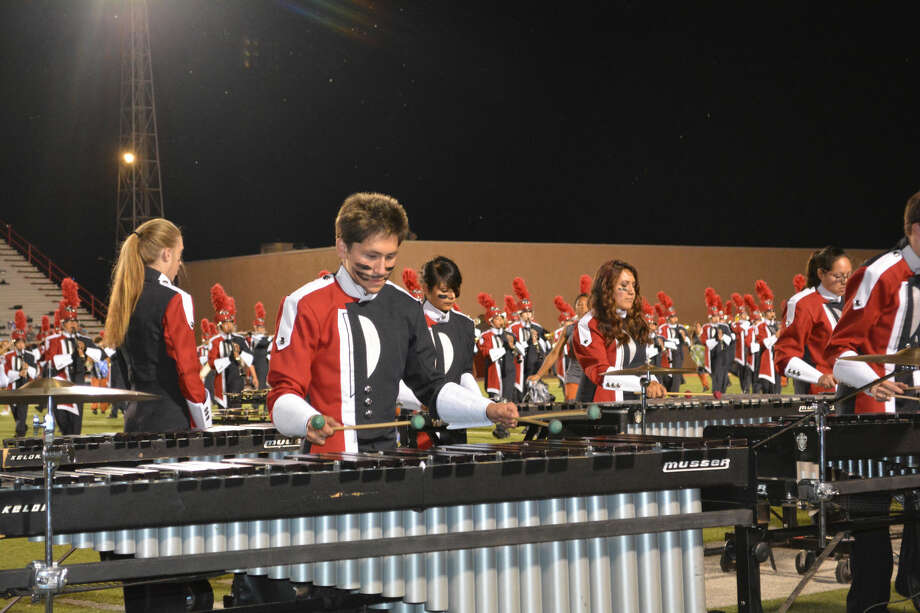 The Powerhouse of the Plains PHS band is preparing for several weeks of competition that includes their hunt for a 78th consecutive first division rating at the UIL Region 16 contest. Photo: Doug McDonough/Plainview Herald
