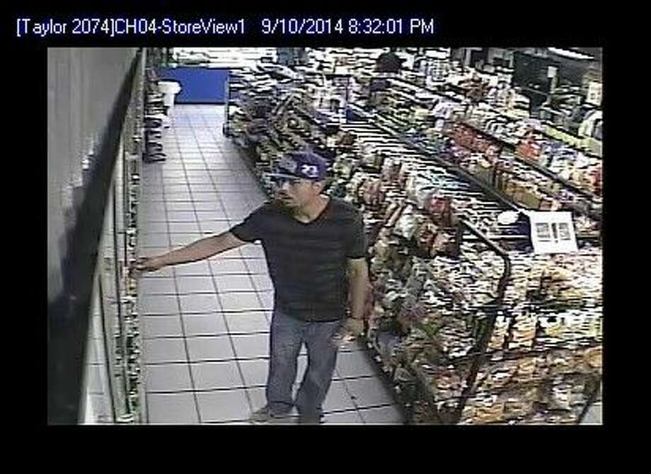 The Hale County/Plainview Crime Stoppers will pay up to $100 for information in finding the identity of the person pictured above. The theft occurred Sept. 10 at the CEFCO located at 2401 Dimmitt Road. Photo: Courtesy Photo