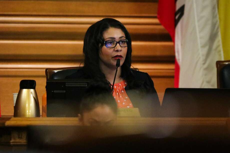 Supervisor President London Breed led the San Francisco Board of Supervisor meeting at City Hall in San Francisco, California on Tuesday, January 26, 2016. The Board of Supervisors unanimously approved a day of remembrance for Mario Woods on Tuesday. Photo: Gabrielle Lurie, Special To The Chronicle
