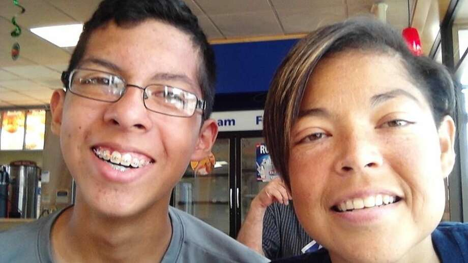 Timothy and his late-mother Jamie Reyes pose in a recent picture. Jamie recently died after a more than 10-year battle with Lupus. Photo: Courtesy Photo