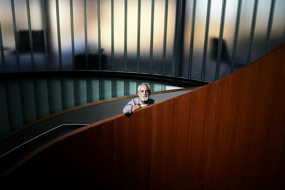 Mitch Kapor poses for a portrait on Tuesday, July 19, 2016 at the Kapor Center's new campus in Oakland, California. Photo: Michael Noble Jr., The Chronicle