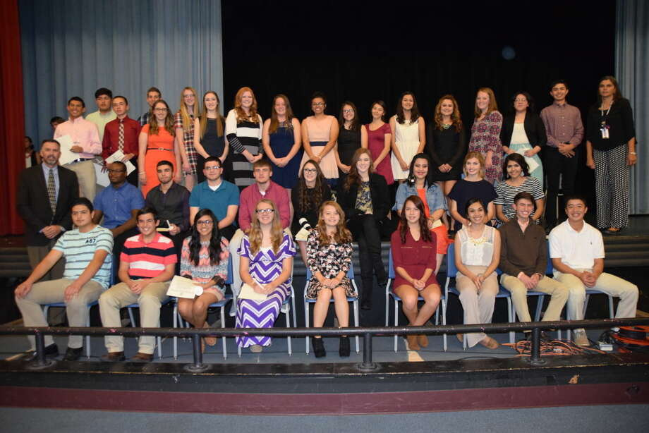 New inductees into the Plainview High School National Honor Society. Photo: Courtesy Photo