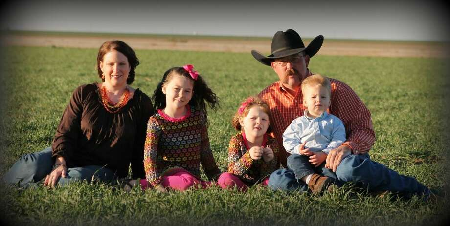 Making the fourth generation of Goss farmers in Swisher County, are Jamie, Brook, Avery, Lane and Micheal Goss. Photo: Courtesy Photo