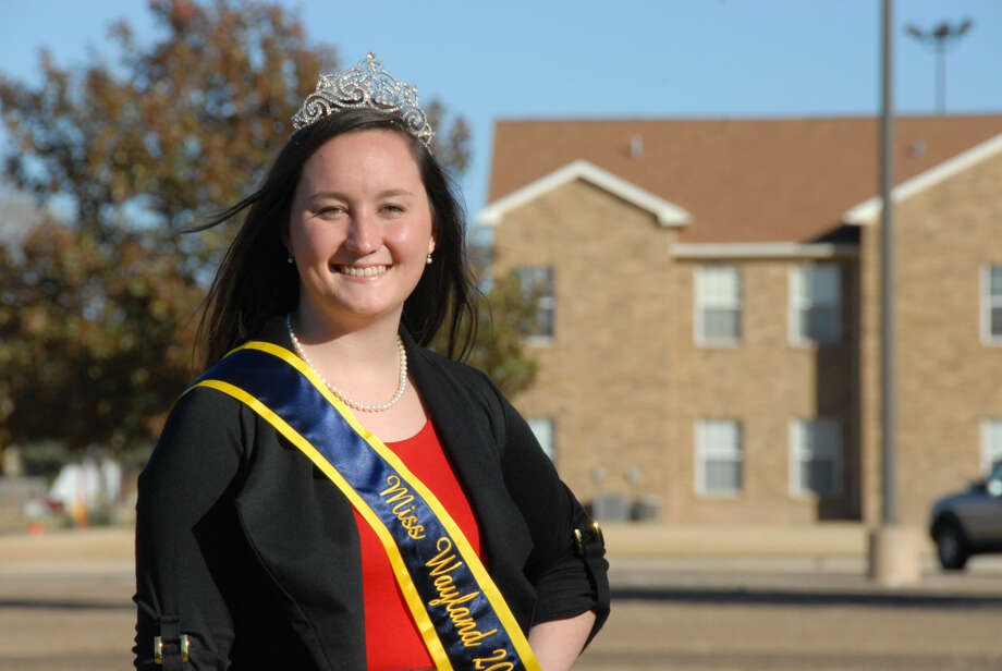 Miss Wayland 2016 Sarah Kelly, a senior biology and chemistry major from Stinnett, hopes to spread her love for science as part of her Miss Wayland platform. Secondary art for inside if needed, slugged Kelly Toothpaste