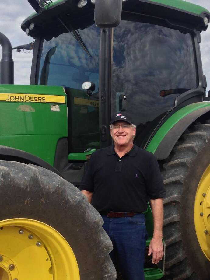 A fourth-generation farmer, Dan Smith of Lockney continues the tradition of his pioneering great-grandfather. Photo: Courtesy Photo