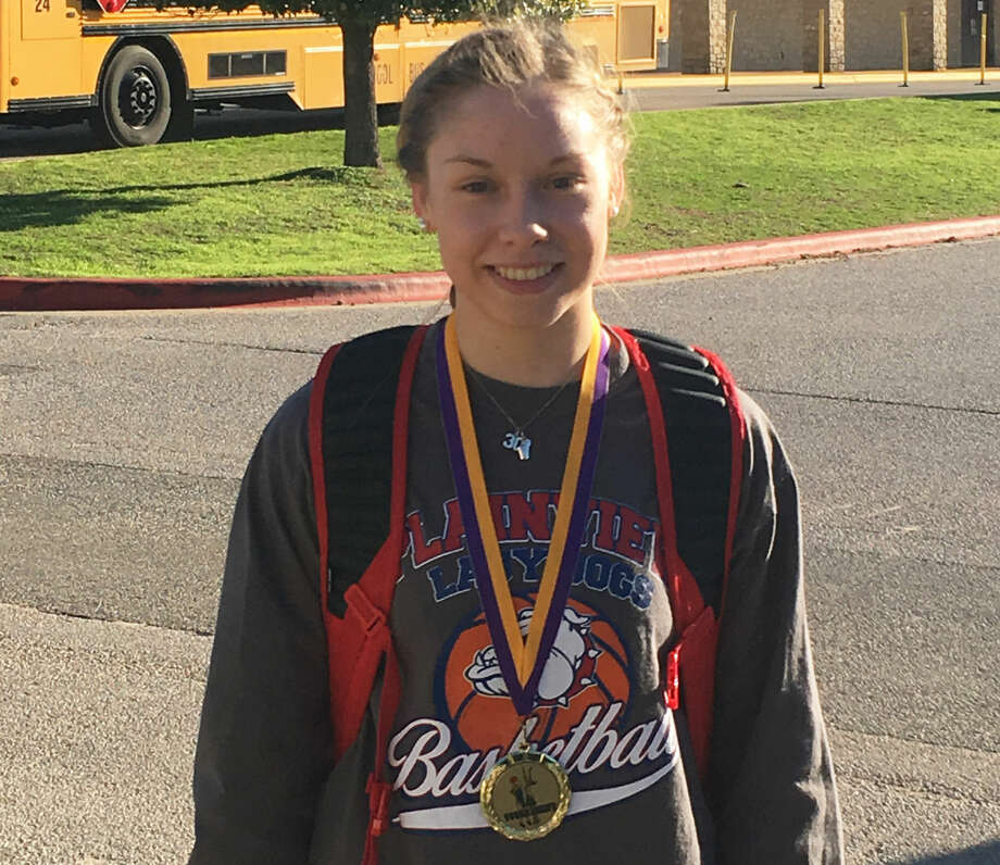 Plainview's Jaden Gonzales was voted to the Marble Falls all-tournament team over the weekend. The sharpshooting guard played especially well in scoring 51 points in two games against Copperas Cove. Photo: Courtesy Photo