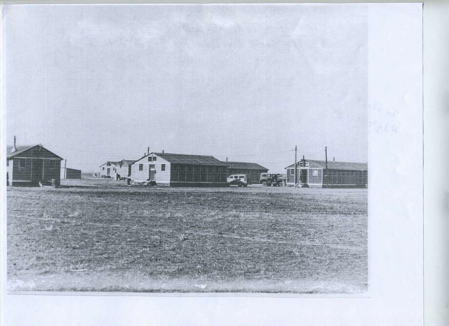 Herald File Photo The photograph shows the barracks and other buildings at Clent Breedlove's Plainview Pre-Glider School at Finney Field, which operated during 1942-43 to trained U.S. Army Air Corps combat glider pilots.