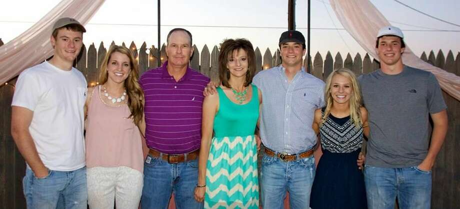 Farming along the Halfway skyline is the Pinkerton family made up of Seth and wife Avery, David and wife Rhonda, Sawyer and wife Hayley and Sadler. Photo: Courtesy Photo