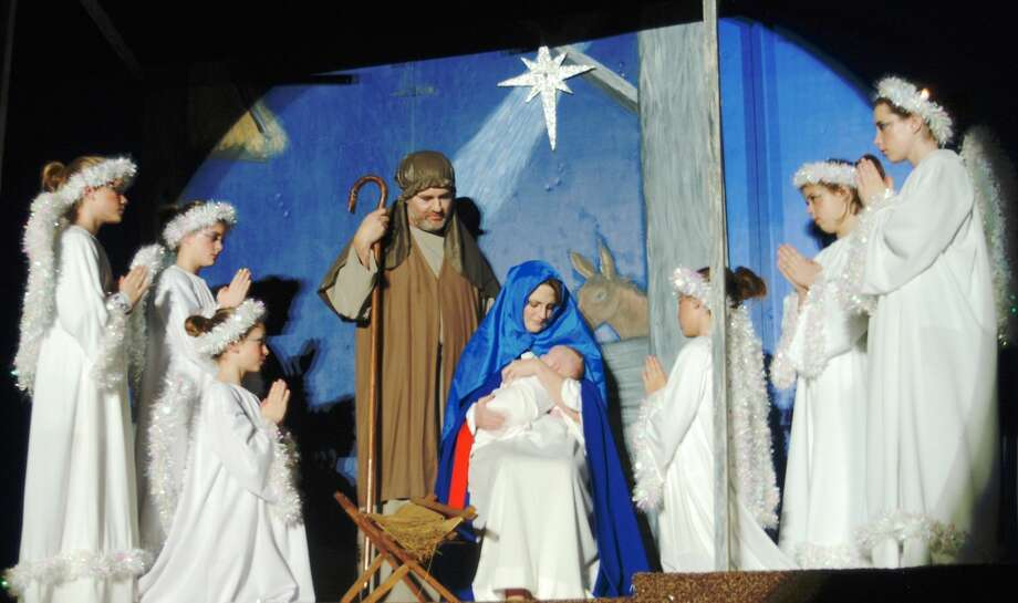 The 20th anniversary production of the Nazareth Christmas Pageant will include performances at 7 p.m. Dec. 20-21 in Holy Family Catholic Church in Nazareth. In honor of the 20th anniversary, guitar music and caroling will be presented by Lydia Schacher's students immediately east of the church entrance beginning at 6:30 and shepherds are tentatively scheduled to tend a live flock on the approach to the church to greet those arriving in the village. The Pageant, presented every other year, is a point of community pride and includes talent from across generations in its staging.