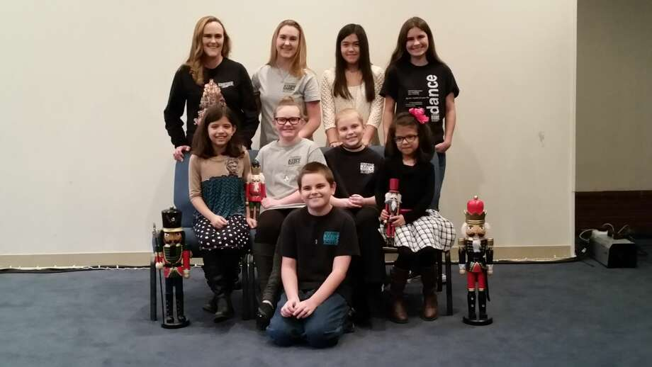"Nine Plainview performers will dance in the production of ""The Nutcracker"" beginning Friday at the Amarillo Civic Center Auditorium. Those preforming include (back row) Lori and Hannah Brown, Susie Hernandez, Ann Marie Rushin, (center row) Annabel Aguilera, Emma Pittman, Abbi Wendling, Allison Aguilera and (bottom row) Bryan Rushin. Photo: Courtesy Photo"