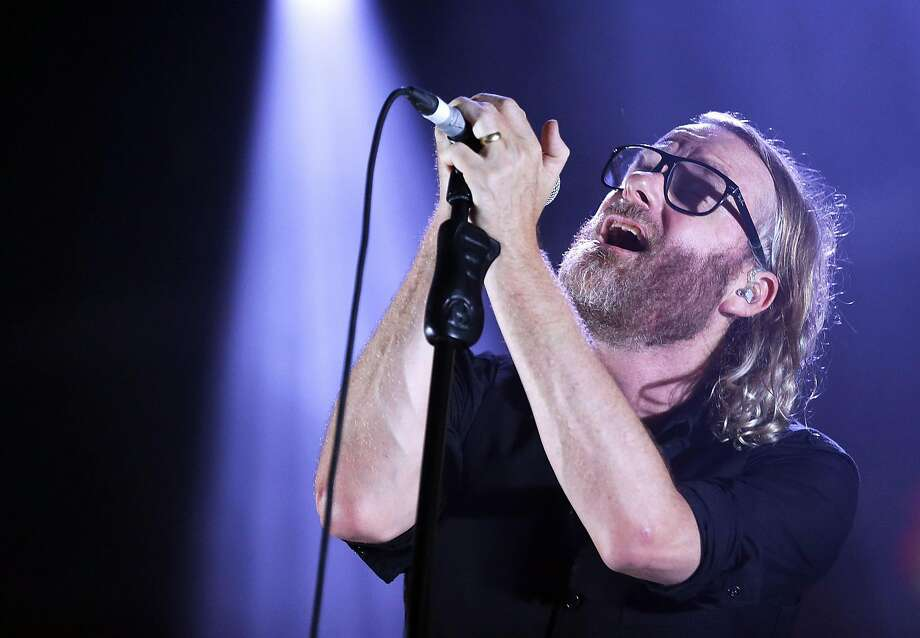 Matt Berninger of the National at the 2016 Byron Bay Bluesfest in Australia. Photo: Mark Metcalfe, Getty Images