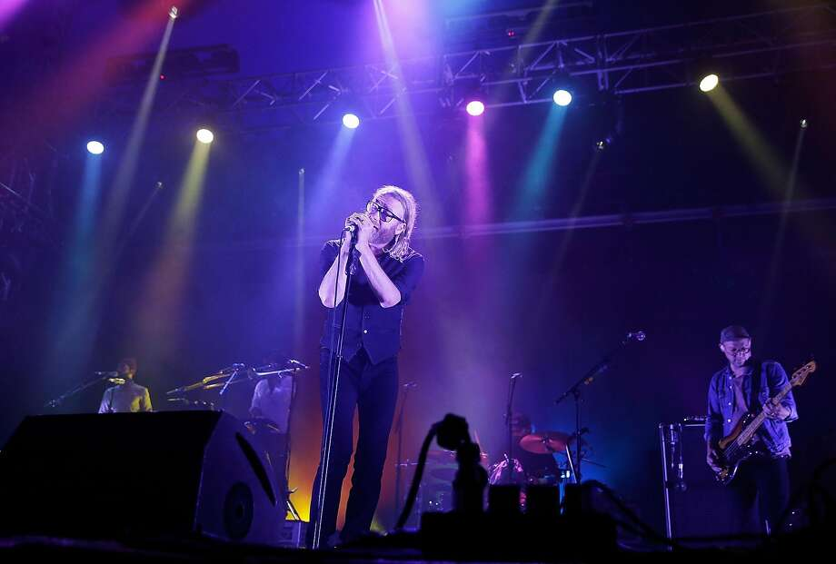 The National is coming to Basilica Hudson on July 14, staging a release party for a new single. Photo: Mark Metcalfe, Getty Images