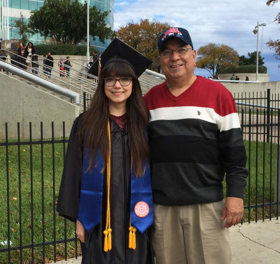Natalia Nicole Garcia with father Joe Garcia