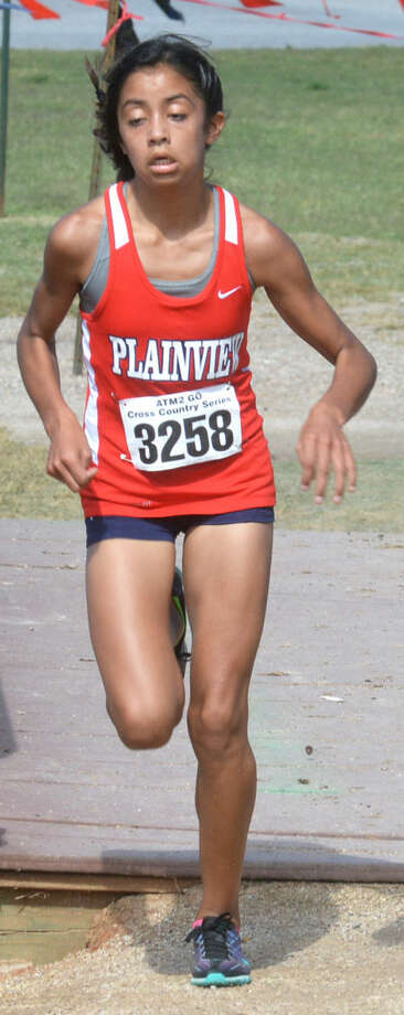 Plainview freshman Kristan Rincon will compete at the UIL state cross country meet at Old Settlers Park in Round Rock Saturday. The girls Class 5A race is scheduled to start at 11:30 a.m. Photo: Skip Leon/Plainview Herald