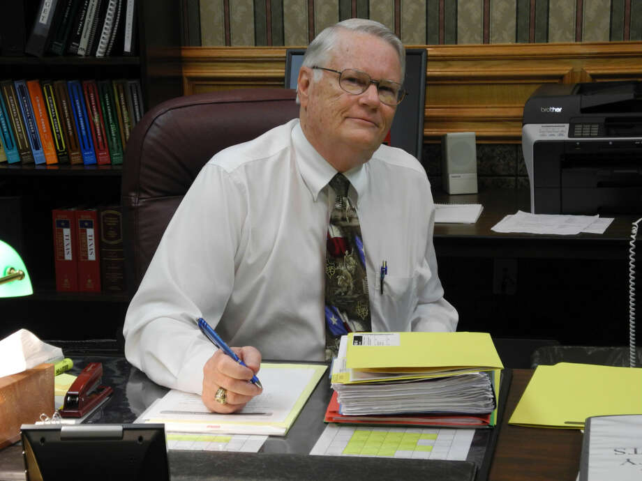 After 16 years as 242nd District Court judge, Ed Self will retire, effective Dec. 31. He and his wife Mary Anna Self plan to travel in their motor home. Self will take senior judge status and be available as a visiting judge in various courts. Photo: Gail M. Williams | Plainview Herald