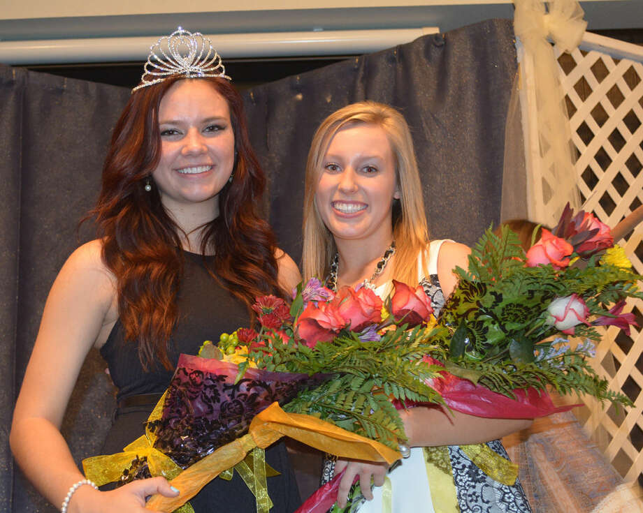 Lions Club RoyaltyDoug McDonough/Plainview HeraldAbbey Maresca (left), 17-year-old daughter of Trey and Marla Maresca, was crowned Plainview Lions Club queen Monday night at the conclusion of the annual contest at Llano Estacado Museum in Plainview. Pennington Moore (right), 16-year-old daughter of David and Valerie Moore, was named Lions Club princess. Both are juniors at Plainview Christian High School. Maresca will represent the club at the District Lions Club Queen Contest next spring. They assumed their titles from outgoing Queen Meredith McDonough and Princess Michele Waller.