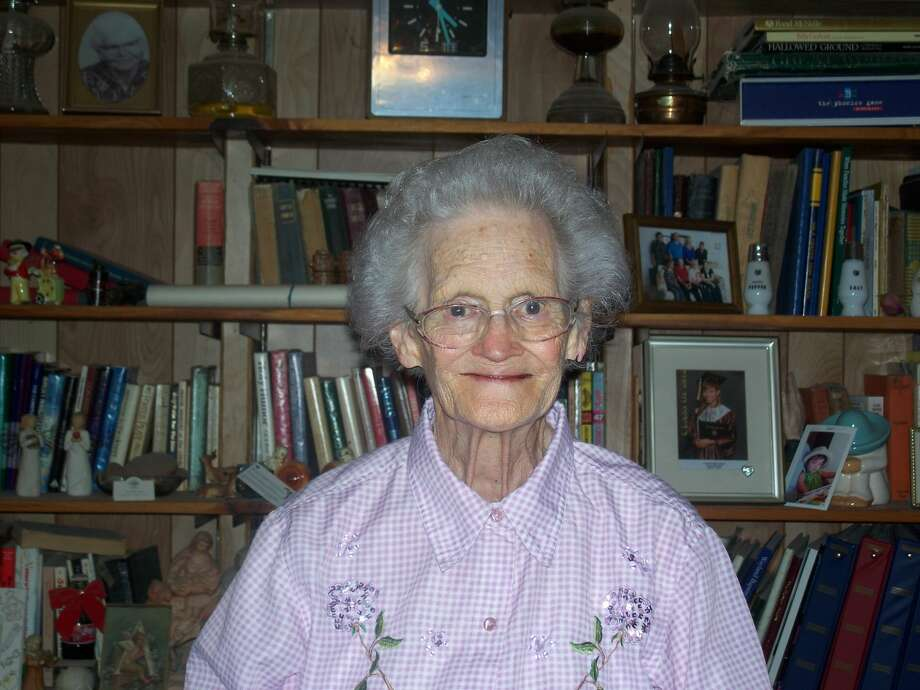 Hale Center resident Virginia Waits serves others to serve Christ. Photo: Courtesy Photo