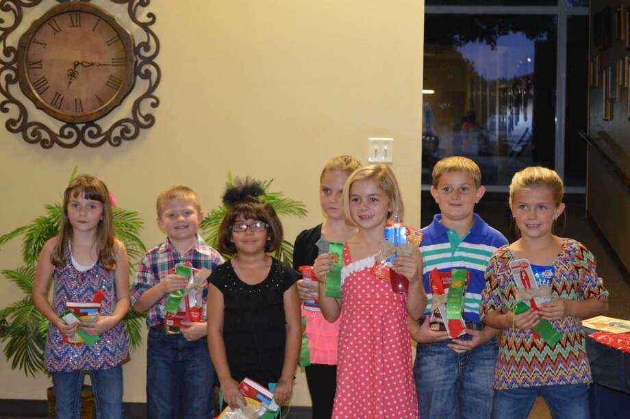 Rachel Walden (left), Mason Hart, Amber Rosales, Hanna Bozeman, Sydney Miller, Carson Curry and Elyse Taubert Photo: Courtesy Photo