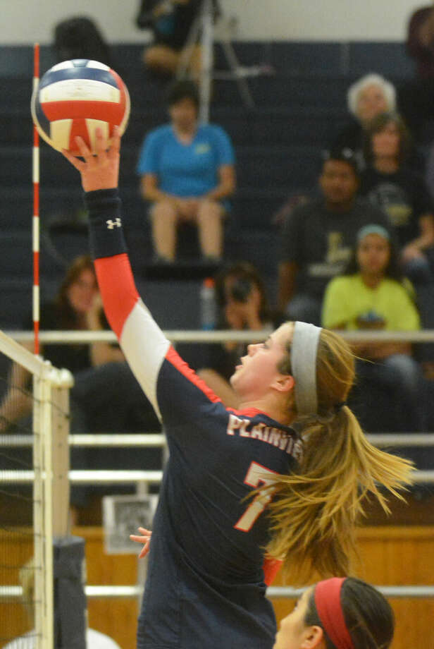 Plainview's Brooke Walker was voted the Hitter of the Year in District 4-5A this season In addition, the Lady Bulldogs had one first-team all-district selection, two second-team choices and two honorable mention selections. Photo: Skip Leon/Plainview Herald