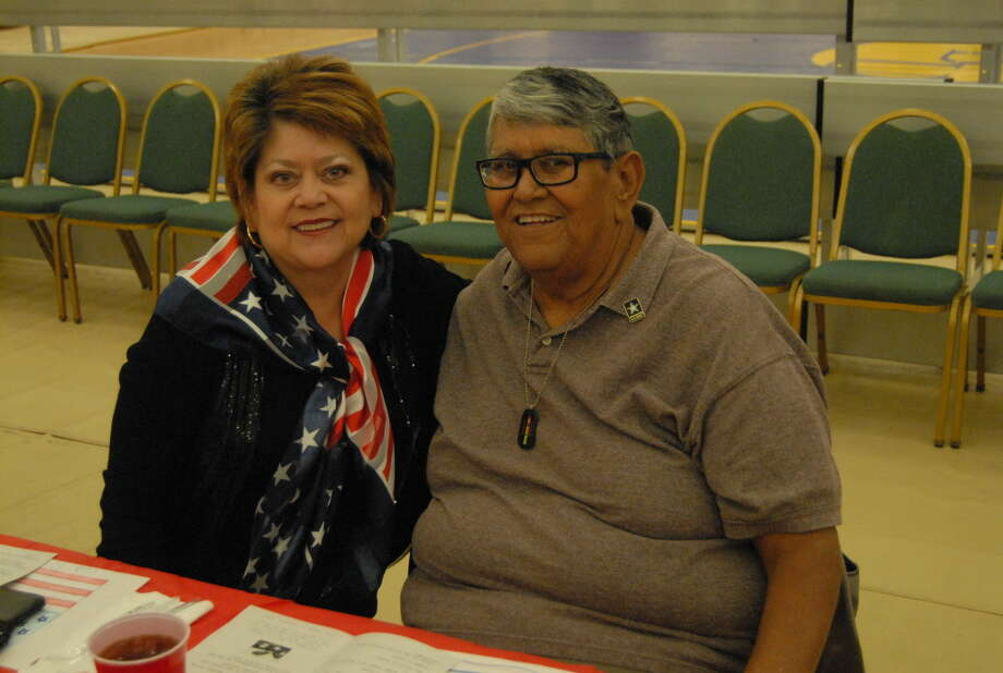 Bobby and Isabel Rodriguez, who recently celebrated their 45th wedding anniversary, recall their time apart while Bobby was sent to fight in Vietnam. Photo: Homer Marquez/Plainview Herald