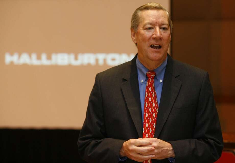 Halliburton Chairman and CEO Dave Lesar