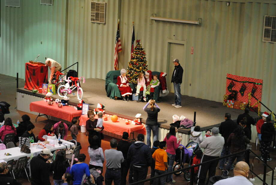 The 2013 Breakfast with Santa including breakfast, activities, prizes and a visit with the jolly old elf and his wife was well attended. This year's event will be from 9-10:30 a.m. Saturday at the Ollie Liner Center. Photo: Gail M. Williams/Plainview Herald