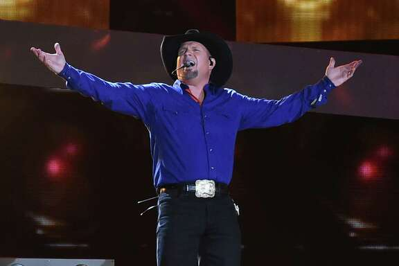 Garth Brooks performs at Yankee Stadium in July   in New York City. His tour is considered an extension of a comeback tour that began in 2014.