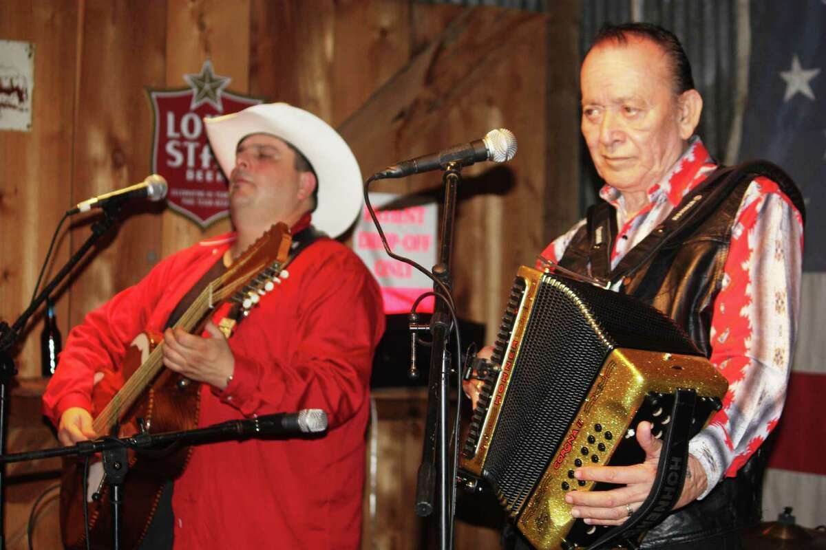 Hard to believe, but the Grammy-winning conjunto and Tex-Mex act led by virtuoso bajo sexto musicianMax Baca has never played Gruene Hall. That changes Friday when Los TexManiacs will be joinedby legend Flaco Jimenez of the Texas Tornados. Jimenez, who turned 78 last month, continues to work at Blue Cat Studios in Southtown, putting finishing touches on a Los Caporales duo project with Fred Ojeda. Bluesman Johnny Nicholas, who will be featured on NPR on Saturday's