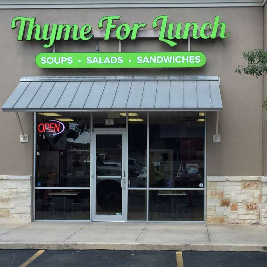 Thyme for LunchKeep clicking to view San Antonio's newest restaurants and bars.