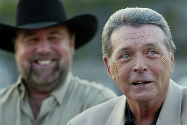 "After the release of ""Urban Cowboy"" in 1980, the careers of Johnny Lee, left, and Mickey Gilley went into overdrive. Both would go on to hit the country charts on a regular basis during the next decade."