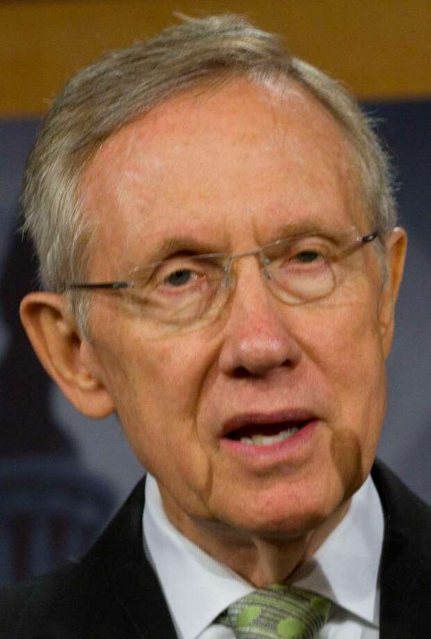 U.S. Sen. Joseph Lieberman is scheduled to hold a fundraiser for embattled Senate Majority Leader Harry Reid, pictured here, in Greenwich Sunday, May 2. Photo: Contributed Photo / Greenwich Time Contributed