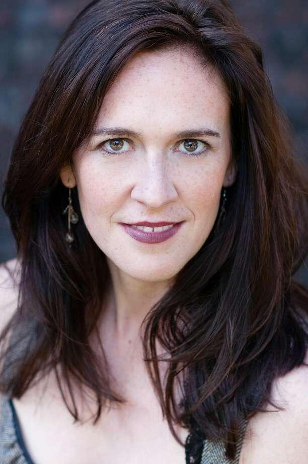 "Soprano Laura Bohn plays the Duchess in ""Powder Her Face."" Photo: Bronwen Houck"