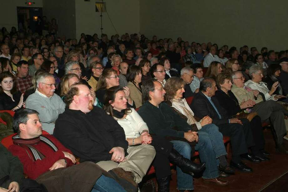 "Every seat was filled at the 2009 premiere of ""The Private Lives of Pippa Lee,"" sponsored by the Connecticut Film Festival in Danbury.The movie was directed by Roxbury resident Rebecca Miller, and was filmed locally. Photo: Jay Weir / The News-Times"