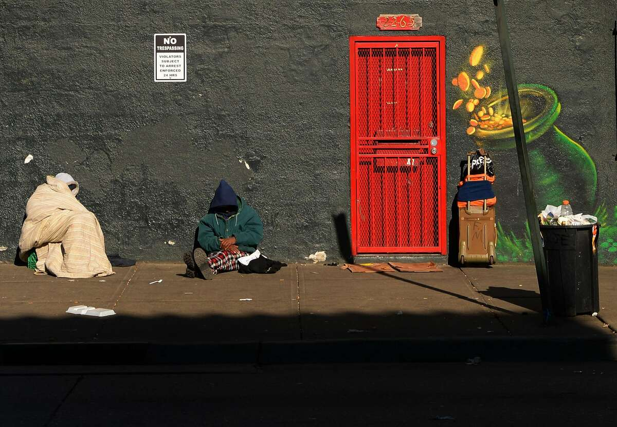 DENVER, CO - MARCH 09: Only a few homeless remain in the area after Denver police officers and public works crew cleared camps near Samaritan House and the Denver Rescue Mission in downtown Denver, March 09, 2016. (Photo by RJ Sangosti/The Denver Post via Getty Images)