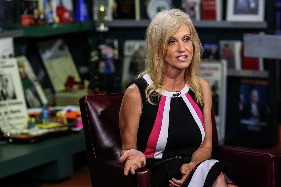 Donald Trump campaign manager Kellyanne Conway is pictured.Keep clicking for a look at life at home with the Trump family. Photo: BLOOMBERG / BLOOMBERG