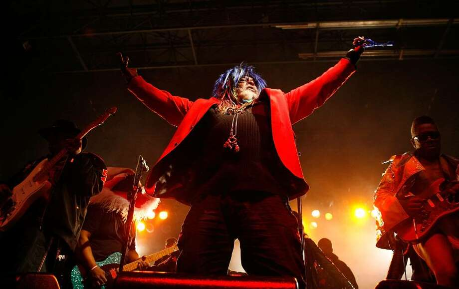 George Clinton and Parliament Funkadelic will perform at this year's Alive@Five concert series. Photo: Sean Gardner, Getty Images / 2009 Getty Images