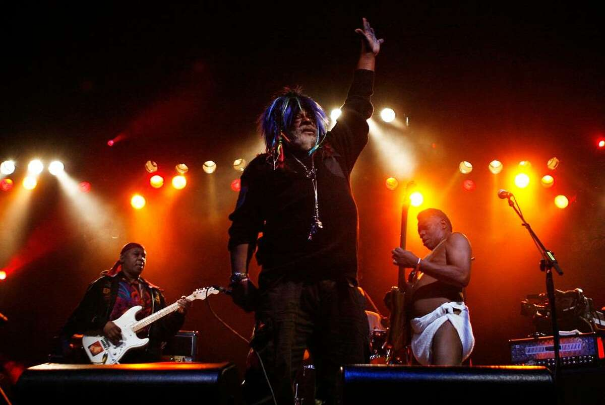 George Clinton and Parliament Funkadelic will perform at this year's Alive@Five concert series.