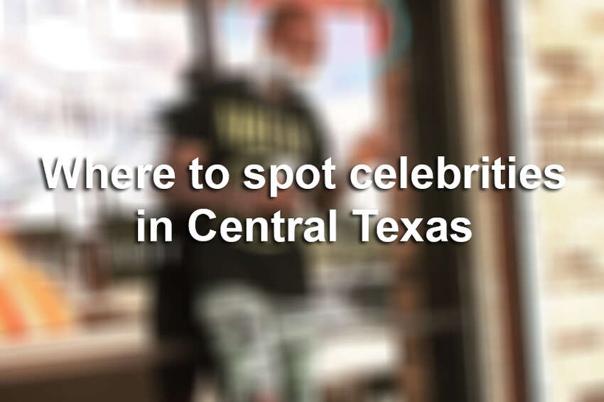 Actors, athletes and TV personalities have made their way around the Hill County by visiting rivers, restaurants and other popular landmarks.Keep clicking to view where to spot celebrities in Central Texas.