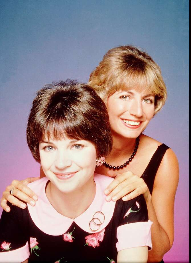 "ABC7 (4/11/95)--LAVERNE & SHIRLEY REUNION-- Penny Marshall and Cindy Williams will relive the best moments from their classic comedy series, LAVERNE & SHIRLEY, on a one hour special airing MONDAY, MAY 22 (8-9 pm, ET) on the ABC Television Network.   HISTORIC FILE PHOTO.    HOUCHRON CAPTION (09/05/2001):  Penny Marshall, right, and Cindy Williams join other ""Laverne and Shirley"" cast members for a fond look  back at the show on ""Biography"" on A&E. Photo: ABC TELEVISION, ABC"