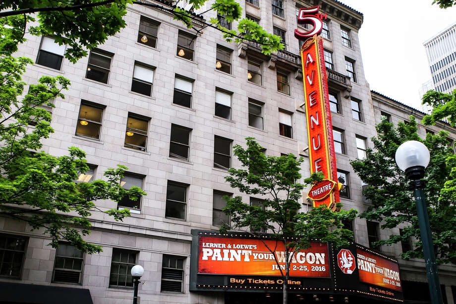 "Threats issued on Facebook prompted the cancellation of Sunday's 1:30 p.m. showing of ""Annie"" at The 5th Avenue Theatre. Police arrested a man at his former girlfriend's house in Shoreline. Photo: LACEY YOUNG, SEATTLEPI.COM / seattlepi.com"