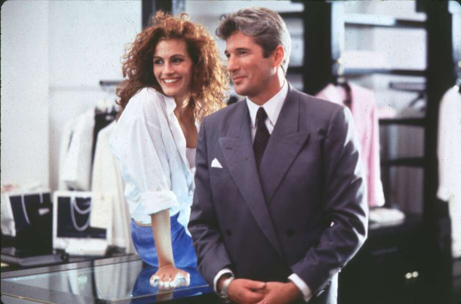 "PRETTY WOMAN - (l-r)  Julia Roberts, Richard Gere. HOUCHRON CAPTION (06/23/1998): ""Pretty Woman"""