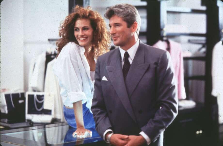 "PRETTY WOMAN - (l-r)  Julia Roberts, Richard Gere. HOUCHRON CAPTION (06/23/1998): ""Pretty Woman"""