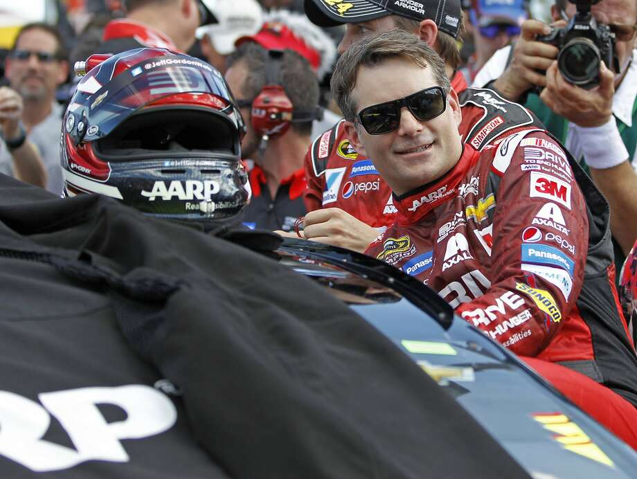Retired NASCAR champion Jeff Gordon will replace Dale Earnhardt Jr. at Indianapolis and Pocono. Photo: Terry Renna, Associated Press