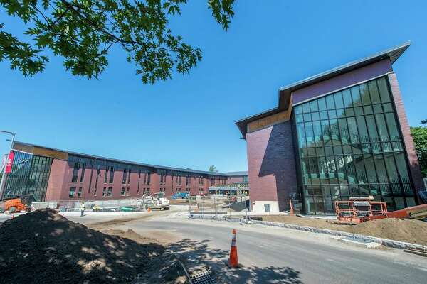Jorge Bergoglio Hall at Sacred Heart University will open for the start of the fall semester. The dorm has bedroom suites linked by shared lounges. It features a fitness center, conference and multipurpose rooms, and a video game classroom.