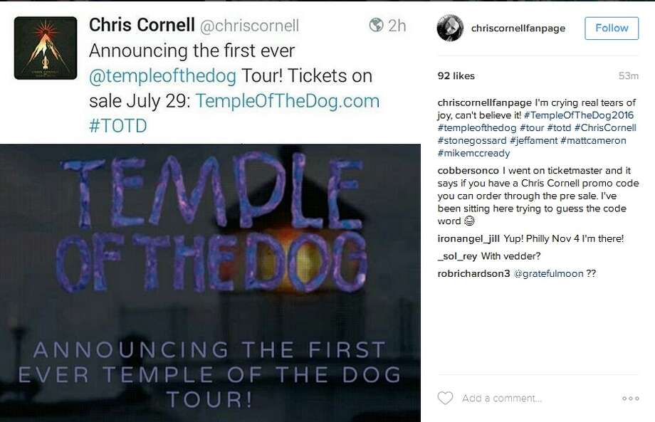 temple of the dog announces 25th anniversary tour. Black Bedroom Furniture Sets. Home Design Ideas