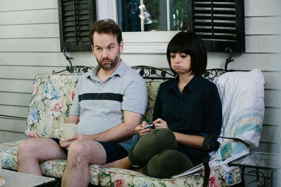 "Mike Birbiglia stars with Kate Micucci in 2016's ""Don't Think Twice."" The comedian returns to the Bay Area to premiere his new show, ""The New One,"" on Wednesday, Aug. 2, in Berkeley. Photo: Courtesy Of Jon Pack"