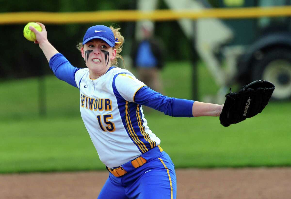 MVPRAEANNE GEFFERT, SEYMOUR: Senior pitcher had a 0.28 ERA with 380 strikeouts in 172 innings with a 25-1 record to lead the Wildcats to the Class M and NVL championships ... Allowed only 53 hits during senior season with six perfect games and seven no-hitters ... Batted .372 with 25 RBIs ... Posted career record of 8-9 with a 0.66 ERA and 1108 strikeouts ... NVL Pitcher of the Year ... All-State Class M, Academic All-State, All-NVL ... Will play at Bucknell.